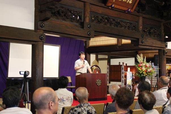 中央大学岡野宣勝先生。
