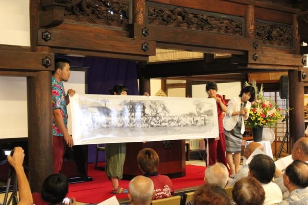 そして天理大学安い眞奈美先生と学生の皆さん。20名の学生さんたちが一緒に来られ、とても賑やかでした。